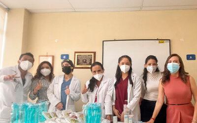 Capacitación a departamento de pediatría – Hospital de la Policía #1, Quito