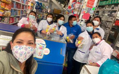 Capacitación a farmacia «San José»