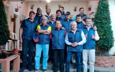 Rocnarf junto al grupo de médicos «La Roca» de Cuenca